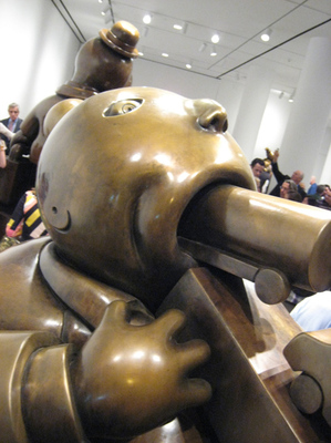 "Tom Otterness ""Large Consumer"""
