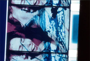 """Carolee Schneemann, still image from """"Fuses"""", 1965, color film in 16mm, 22:00 minutes"""