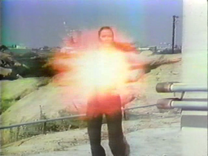 "Dara Birnbaum, ""Technology/Transformation: Wonder Woman"", still from color video"