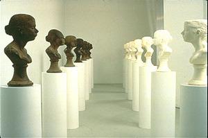 "Janine Antoni, ""Lick and Lather"", 1993-4"