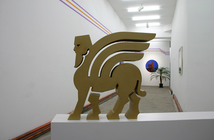 Sophie-Therese Trenka-Dalton, City of Commerce, installation view