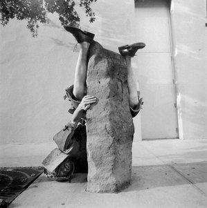 "The Bruce High Quality Foundation, ""Public Sculpture Tackle (Beuys)"""