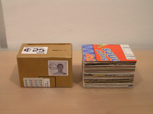 "Shinsuke Aso, ""Shinsuke Aso: Postcard (SAPC)"", documentation photograph from ongoing performance."