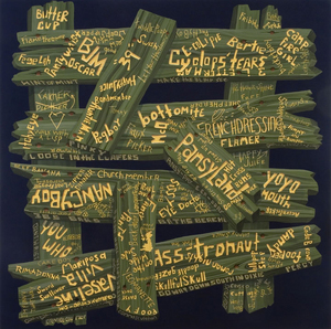 "Steve DeFrank, ""Faglish,"" 2007."