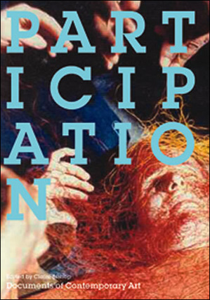 """Reproduced cover image of """"Participation,"""" edited by Claire Bishop and published by The MIT Press."""
