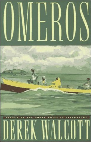 "Reproduced cover image of Derek Walcott's ""Omeros"""