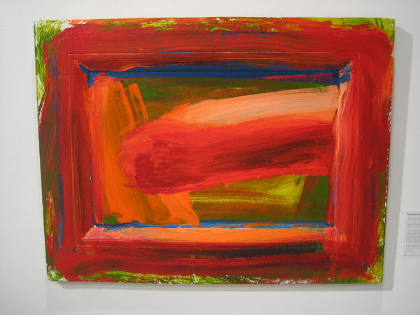 Howard Hodgkin at Hackett-Freedman, ArtMiami 2008.
