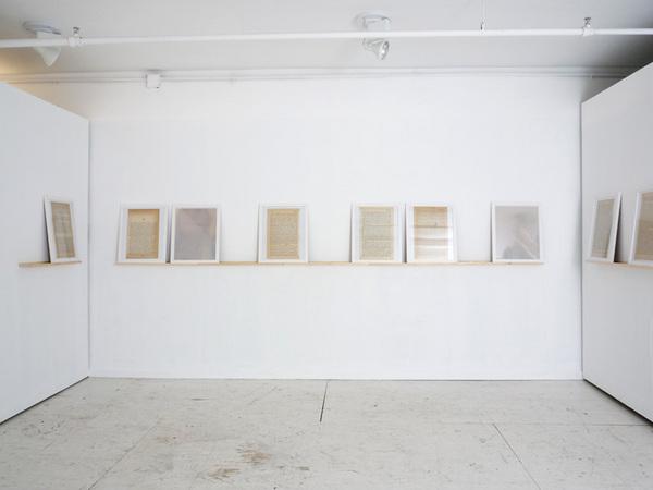 Paul Mpagi Sepuya, Alexandria installation view at Envoy, 2009.