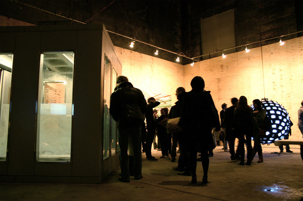 "Tavares Strachan, ""The Distance..."", installation view at The Boiler. Photo: PJR."